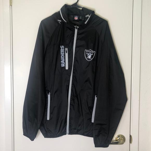 NFL Other - NFL Oakland Raiders Windbreaker Jacket | Large
